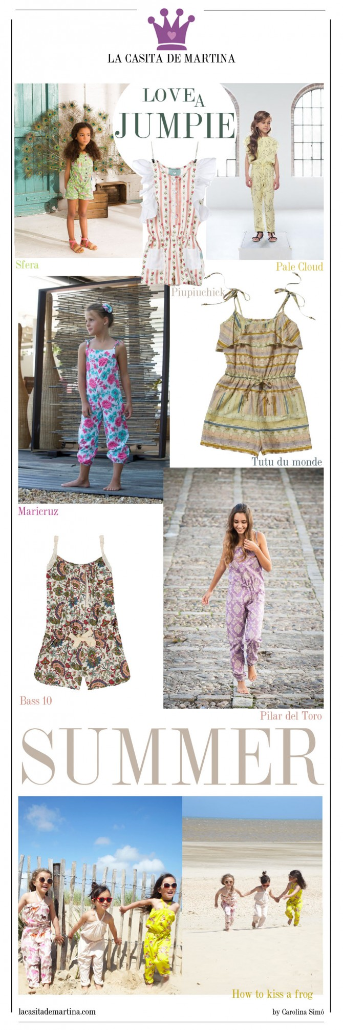 Tendencias Moda Infantil, Ropa Niños, Blog de Moda Infantil, La casita de Martina,  Carolina Simó