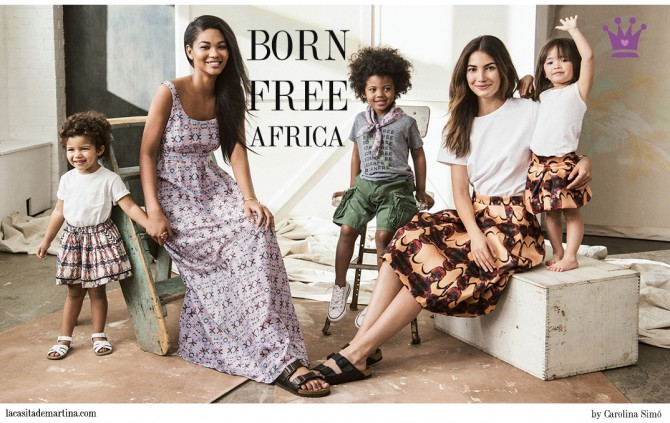 Born Free Africa, Vogue, La casita de Martina,  Shopbob, Blog Moda Infantil