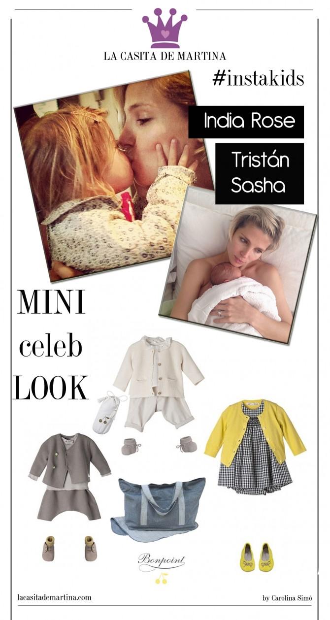 Elsa Pataky, India Rose, Tristás Sasha, La casita de Martina, Carolina Simó, Blog Moda Infantil