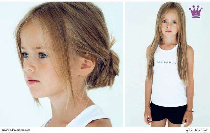Kristina Pimenova, Pitti Bimbo Florencia, La casita de Martina, Models kids,  Blog Moda Infantil