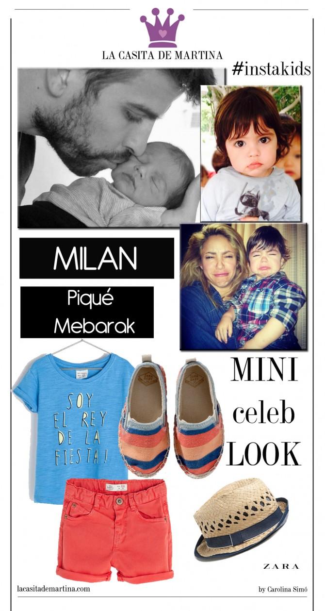 Milan Piqué Mebarak, Sakira, Blog Moda Infantil, La casita de Martina, Carolina Simó