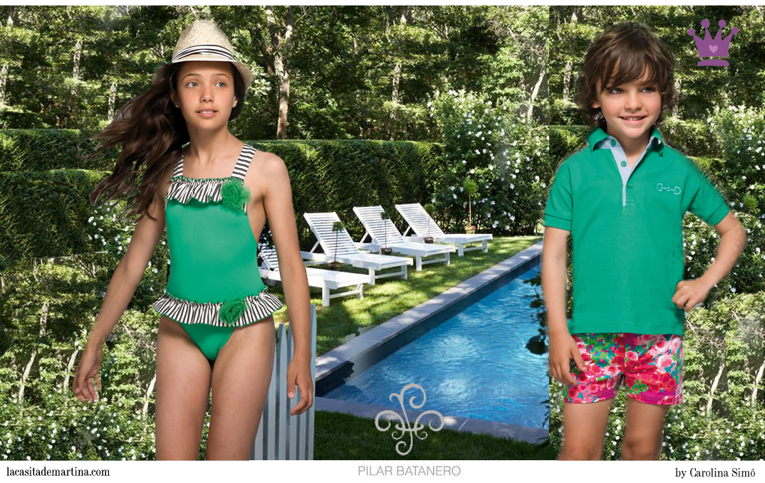 Pilar batanero colecci n ba o y moda infantil primavera - Moda en banos ...