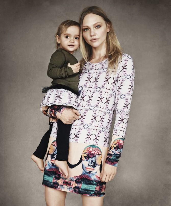 Sasha Pivovarova, Born Free Africa, Vogue, La casita de Martina, Shopbob, Blog Moda Infantil