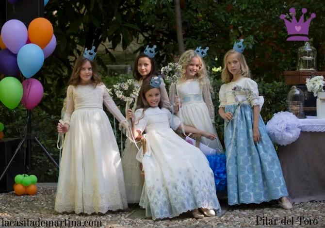 Pilar del Toro, Vestidos Comunión, Trajes Comunión, Día Mágico Fimi, Blog Moda Infantil, Carolina Simó, La casita de Martina