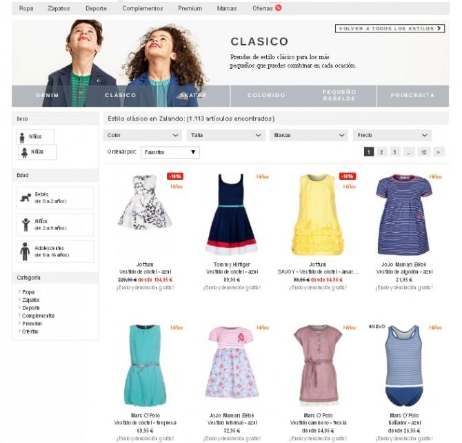 Zalando, La ropa de tu vida, Blog de Moda Infantil,  Carolina Simó
