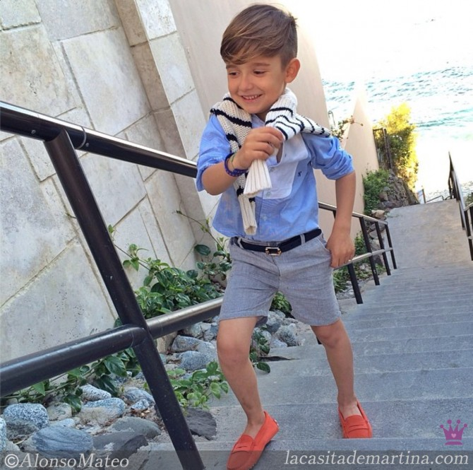 Alonso Mateo Moda Infantil Y Estilo En Versi 243 N Mini
