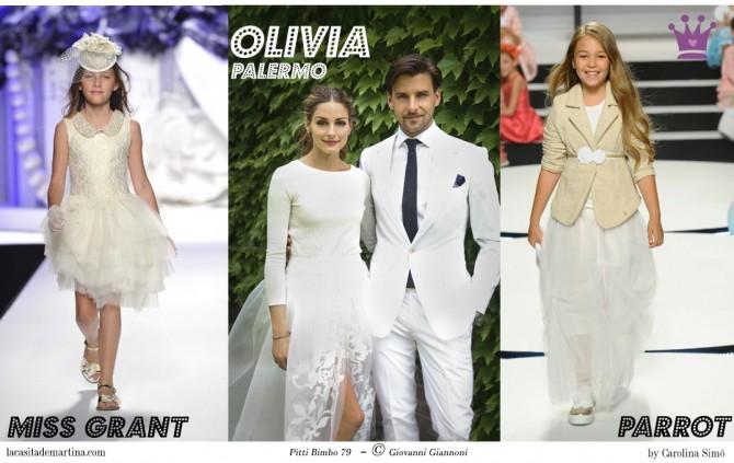 Miss Grant, Boda Olivia Palermo, Pitti Bimbo 79, Tendencias moda infantil verano 2015, Blog Moda Infantil