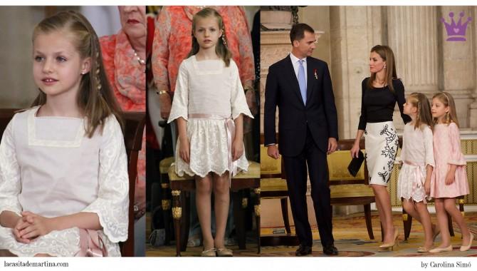 Infantas Leonor, Infanta Sofía,  Abdicación Rey Juan Carlos, Rey Felipe VI, Blog Moda Infantil