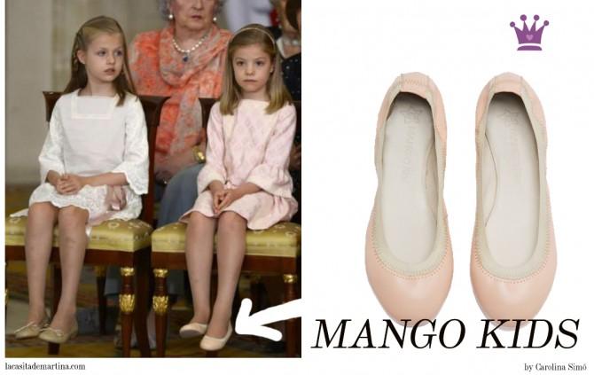Infantas Leonor y Sofía,  Mango kids, Abdicación Rey Juan Carlos, Rey Felipe VI, Blog Moda Infantil