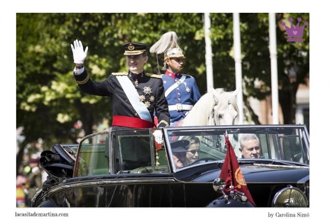 Infantas Leonor y Sofía, Rey Felipe VI, Blog Moda Infantil, Proclamación Rey