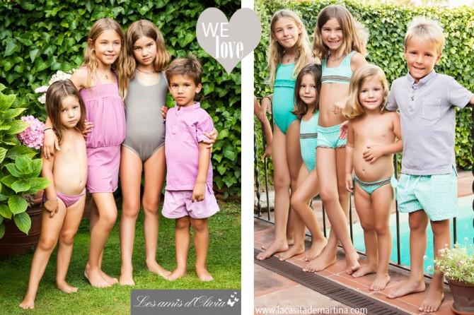Les amis d'Olivia, Ropa Niños, Moda Infantil, La casita de Martina, Blog de Moda Infantil,  Colección Moda Infantil Verano