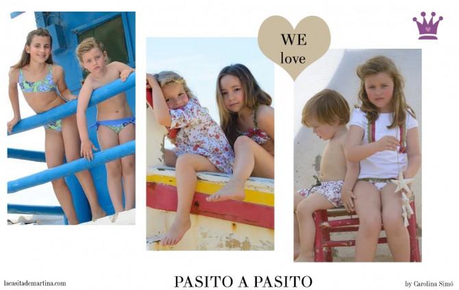 Pasito a Pasito Moda Infantil, Ropa Niños, Moda Infantil, La casita de Martina, Blog de Moda Infantil,  Colección Moda Infantil Verano