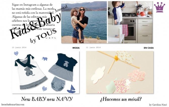 Tous, Blog Moda Infantil, La casita de Martina,  Tendencias Moda Infantil, Carolina Simó, Blog Moda Bebé
