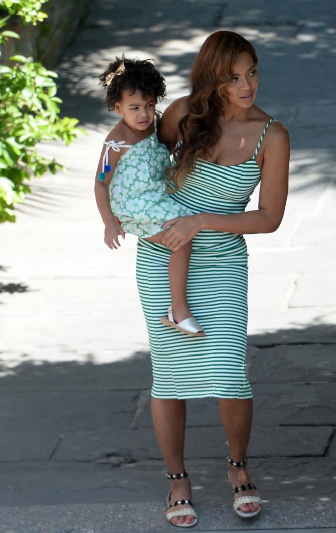 Beyonce Amp Blue Ivy Copypast Celebrity Look Tendencias