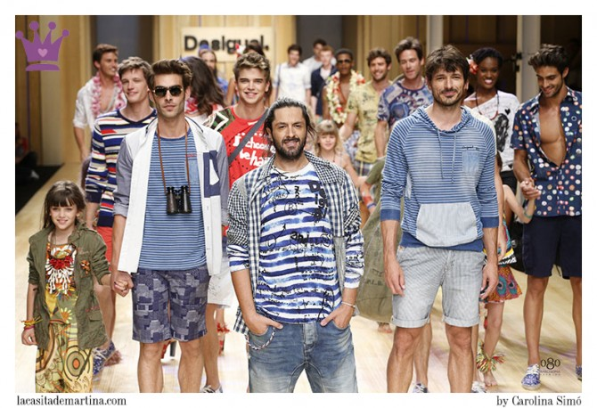 Andrés Velencoso, Jonh Kortajarena, River Viiperi, Rafael Amargo, Desigual, 080 Barcelona Fashion, Blog de Moda Infantil, La casita de Martina