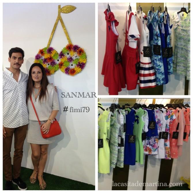 Sanmar, Blog de moda infantil, La casita de Martina, Fimi 79, Fimi Feria internacional de la moda infantil, ropa niños