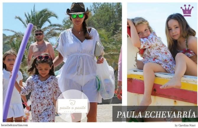 Paula Echevarría, Pasito a Pasito, Blog de Moda Infantil, La casita de Martina, Ropa Niños, Carolina Simó, Calzedonia