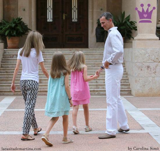 Vestido Princesa Leonor Mallorca, Vestidos Leonor y Sofía, Blog de Moda Infantil, La casita de Martina, Carolina Simó