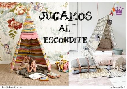 Blog de Moda Infantil, La casita de Martina, Carolina Simó, Decoración habitaciones niños, Cabañas niños
