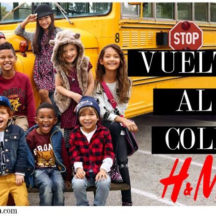 H&M, Vuelta al cole, Blog Moda Infantil, Blog Moda Bebé, La casita de Martina, Moda Infantil, Carolina Simó