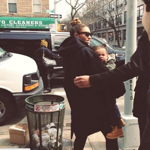 Beyonce-Blue-Ivy,Timberland, Blog de Moda Infantil, Blog Moda Bebé, La casita de Martina, Carolina Simó, Tendencias Moda Infantil