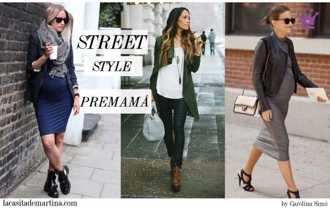 03b24e8a2 ♥ Street Style PREMAMÁ las futuras mamás marcan tendencia en la red ...
