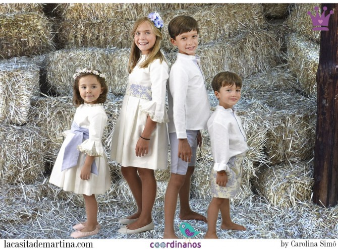 Coordinanos, Blog Moda Infantil, Moda Infantil, Blog Moda Bebé, La casita de Martina, Ropa Niños, Vestidos Arras 2015