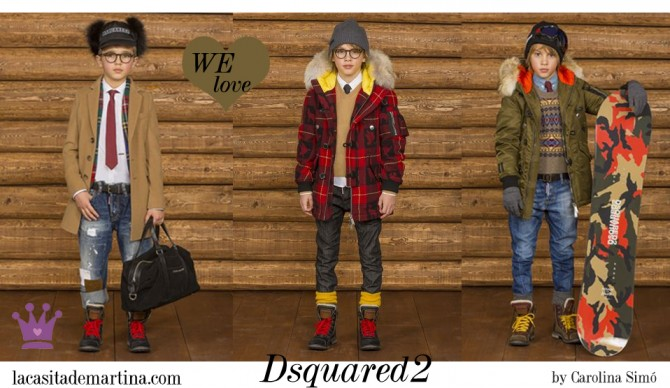 DSQUARED2 kidswear, moda infantil, Blog de Moda Infantil, La casita de Martina, Blog Moda Bebé, Carolina Simó