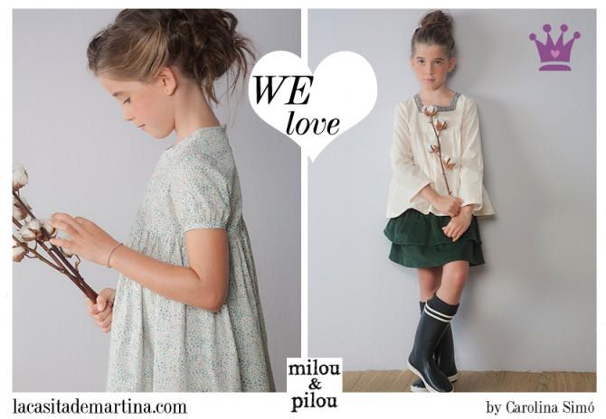 Milou & Pilou, moda infantil, Blog de Moda Infantil, La casita de Martina, Blog Moda Bebé, Carolina Simó