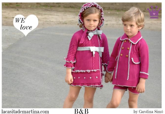 B&B, moda infantil, Blog de Moda Infantil, La casita de Martina, Blog Moda Bebé, Carolina Simó