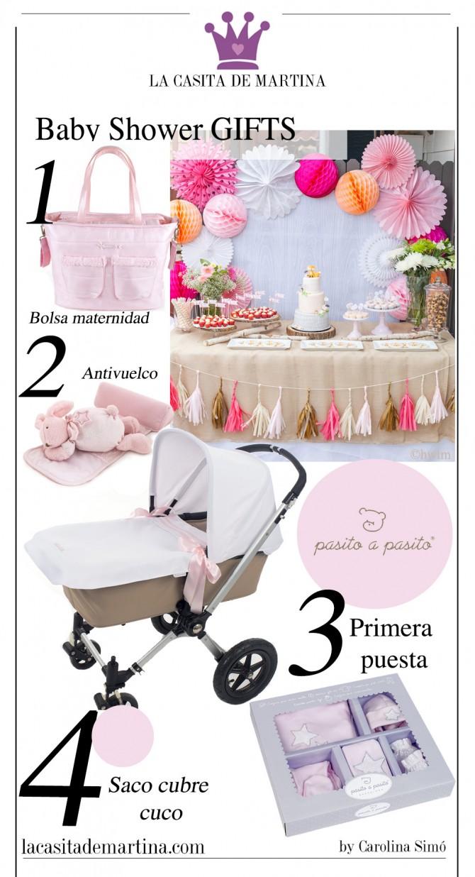 Baby Shower regalos niña, Pasito a Pasito, Blog Moda Bebé, Blog Moda Infantil, La casita de Martina