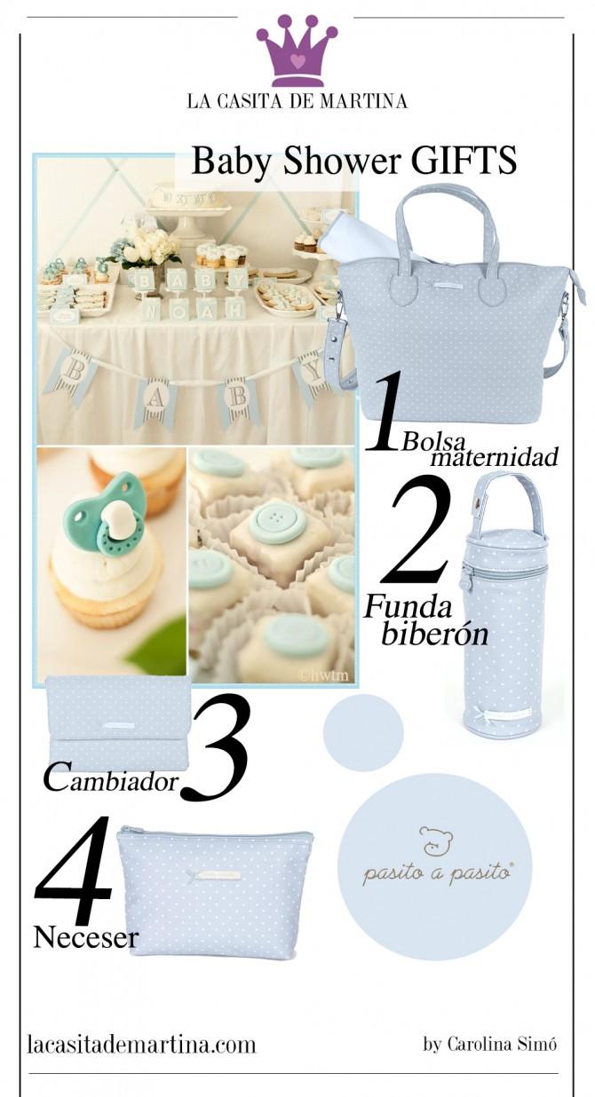 Baby Shower regalos niño, Pasito a Pasito, Blog Moda Bebé, Blog Moda Infantil, La casita de Martina