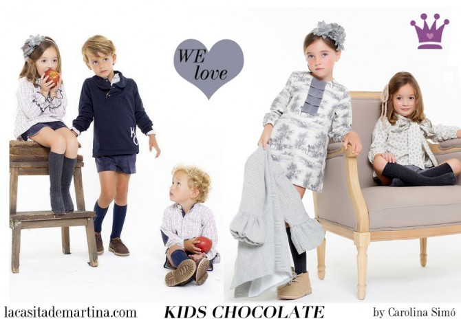 Kids Chocolate, moda infantil, Blog de Moda Infantil, La casita de Martina, Blog Moda Bebé, Carolina Simó