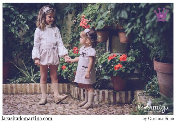 La ormiga moda infantil, Blog Moda Bebé, La casita de Martina, Blog Moda Infantil, Carolina Simó