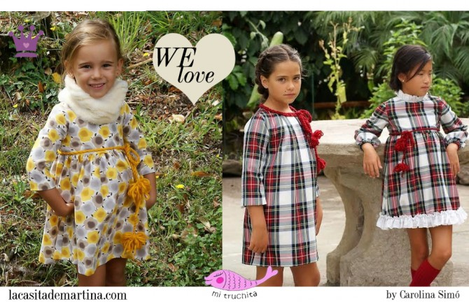 Mi truchita, moda infantil, Blog de Moda Infantil, La casita de Martina, Blog Moda Bebé, Carolina Simó