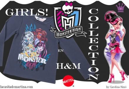 Monsters High, H&M, Blog Moda Infantil, Blog Moda Bebé, Moda Infantil, La casita de martina, Carolina Simó, Mattel, 8
