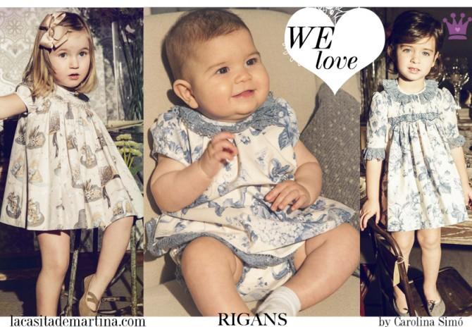 Rigans, moda infantil, Blog de Moda Infantil, La casita de Martina, Blog Moda Bebé, Carolina Simó