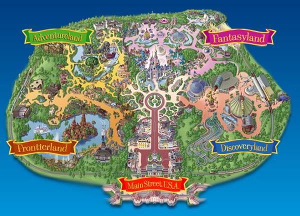 plano parque disneyland, Disneyland Paris, Blog Moda Infantil, La casita de Martina