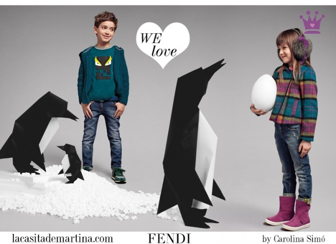 FENDI KIDS, moda infantil, Blog de Moda Infantil, La casita de Martina, Blog Moda Bebé, Carolina Simó