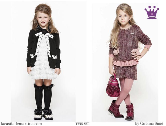 Blog Moda Infantil, La casita de Martina, Moda Niños Navidad, Carolina Simó, Twin-set