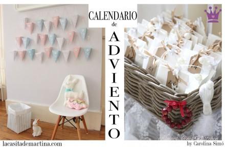 Calendario Adviento, Decoración Navidad, La casita de Martina, Blog Moda Infantil
