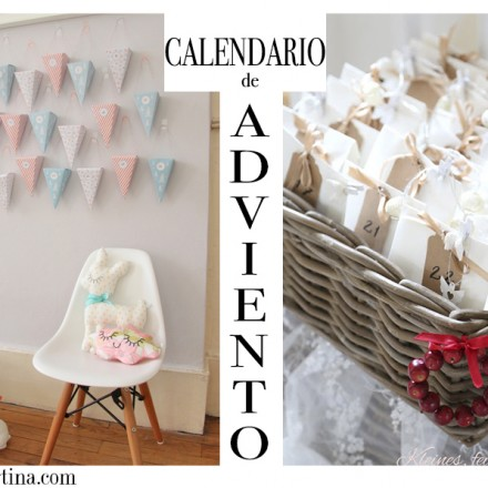 Calendario Adviento, Decoración Navidad, La casita de Martina, Blog Moda Infantil