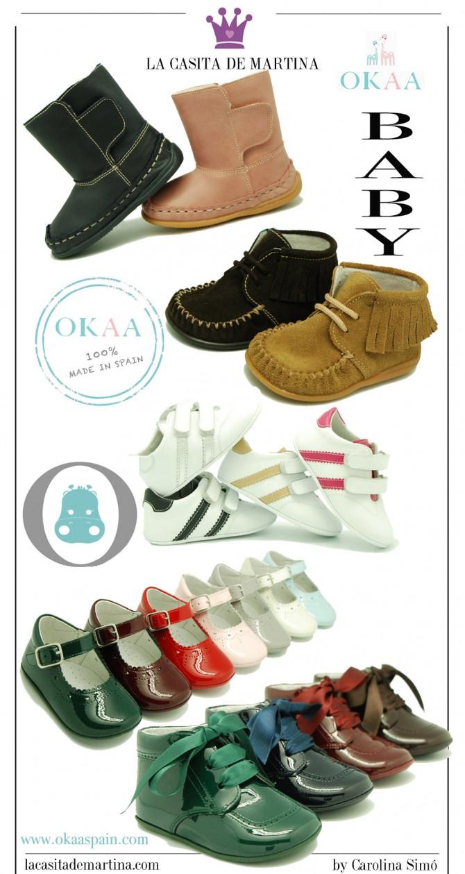 Okaaspain, calzado infantil, blog moda infantil, blog moda bebé, la casita de Martina, Carolina Simó