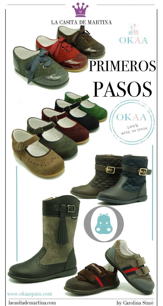 Okaaspain, calzado infantil, zapatos preandante, blog moda infantil, blog moda bebé, la casita de Martina, Carolina Simó