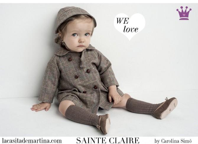 Sainte Claire, moda infantil, Blog de Moda Infantil, La casita de Martina, Blog Moda Bebé, Carolina Simó