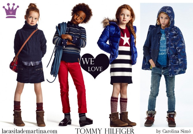 Tommy Hilfiger , moda infantil, Blog de Moda Infantil, La casita de Martina, Blog Moda Bebé, Carolina Simó
