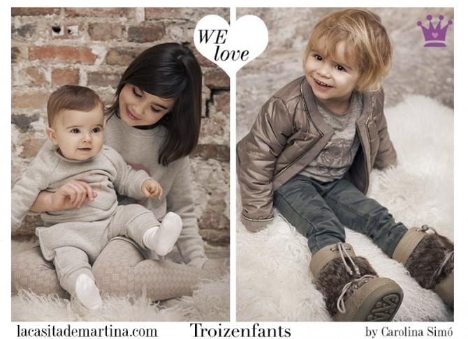 Troizenfants, moda infantil, Blog de Moda Infantil, La casita de Martina, Blog Moda Bebé, Carolina Simó