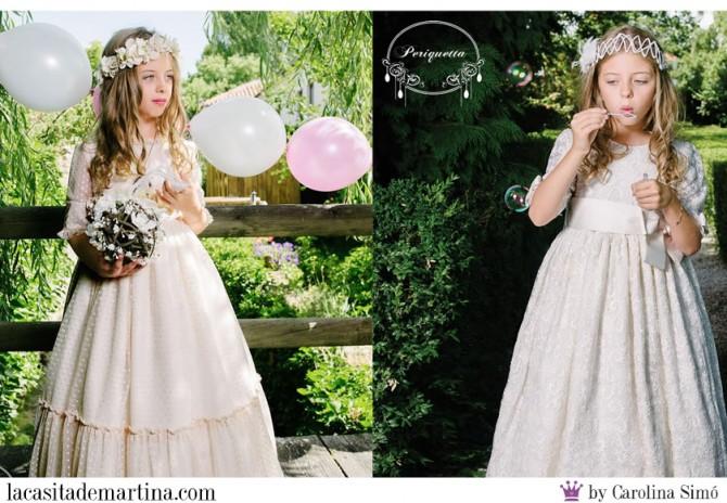 Vestidos Comunión 2015, Trajes Comunión, Periquetta, Blog de Moda Infantil, La casita de Martina, Moda Infantil, Carolina Simó