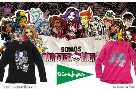 Monster High, El Corte Inglés, La casita de Martina, Blog de Moda Infantil, 2