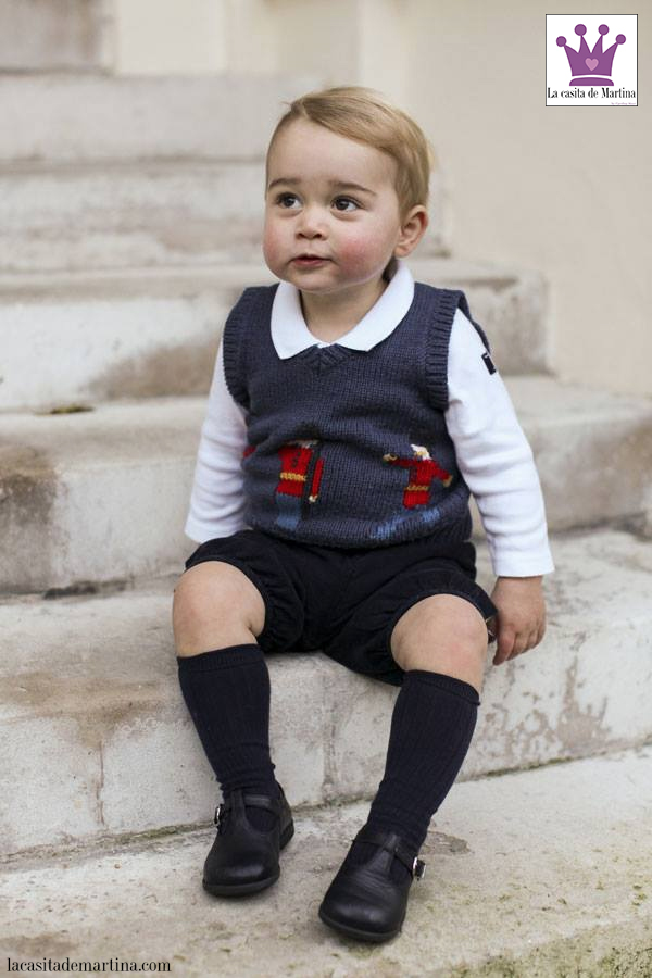 Prince George, Chaleco Cath Kidston, Blog Moda Infantil, La casita de Martina, Carolina Simó, 1